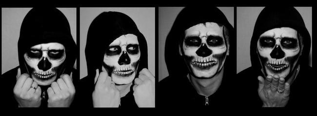 Makijaż Na Halloween Malowanie Twarzy Halloween Jak Pomalować