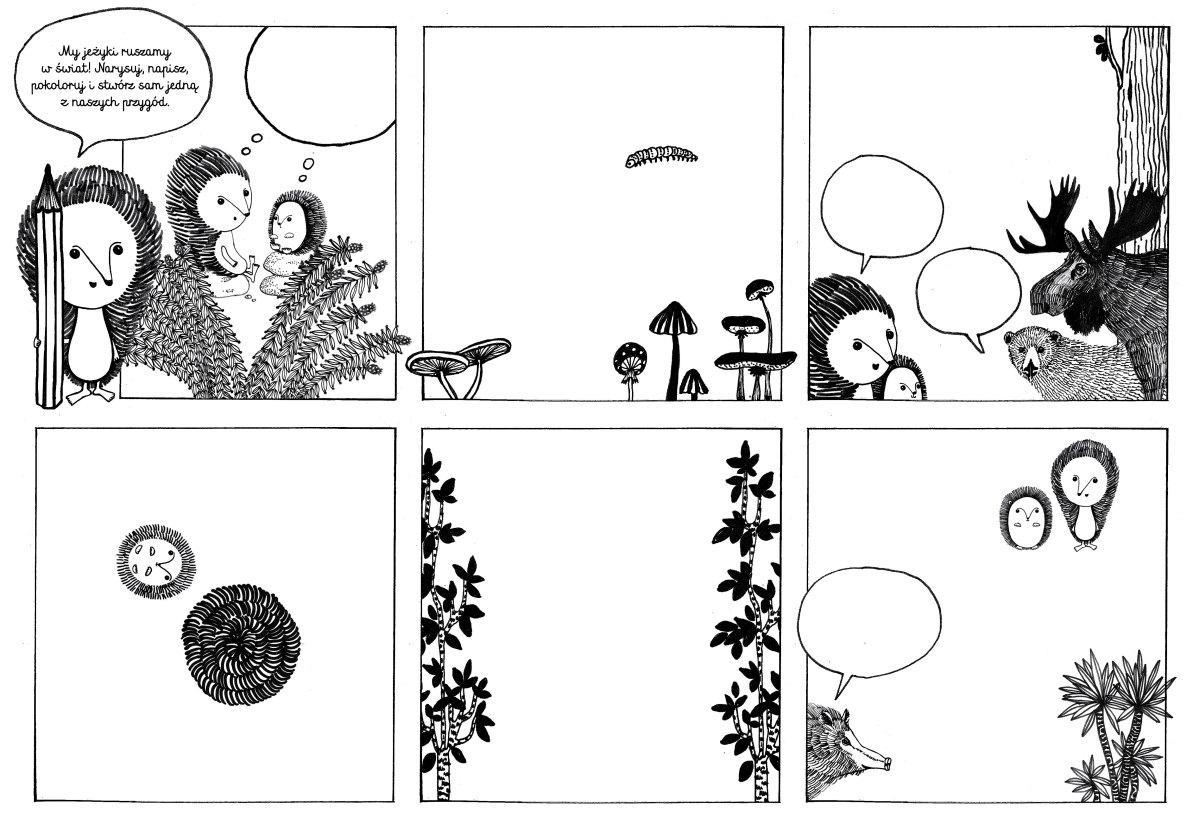 Dzieciaki na horyzoncie - komiks o jezach