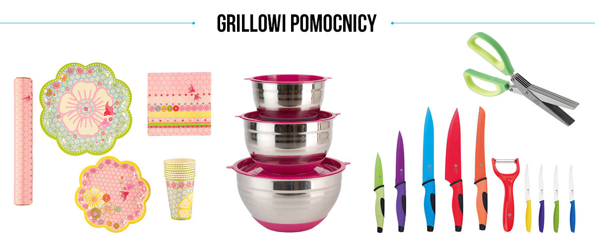 Garden party - grillowi pomocnicy