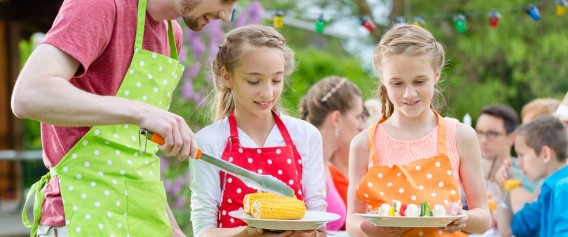 Grill – przepisy na dania z grilla dla dzieci