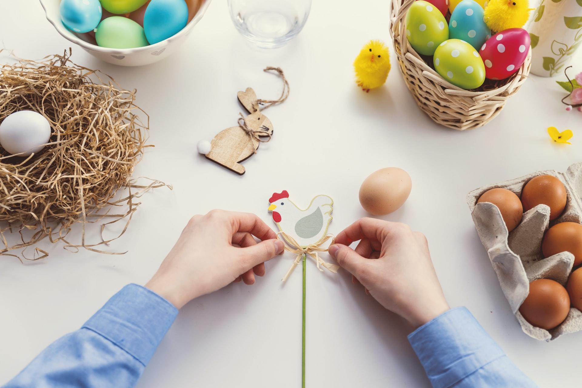 Ręcznie wykonane ozdoby Wielkanocne