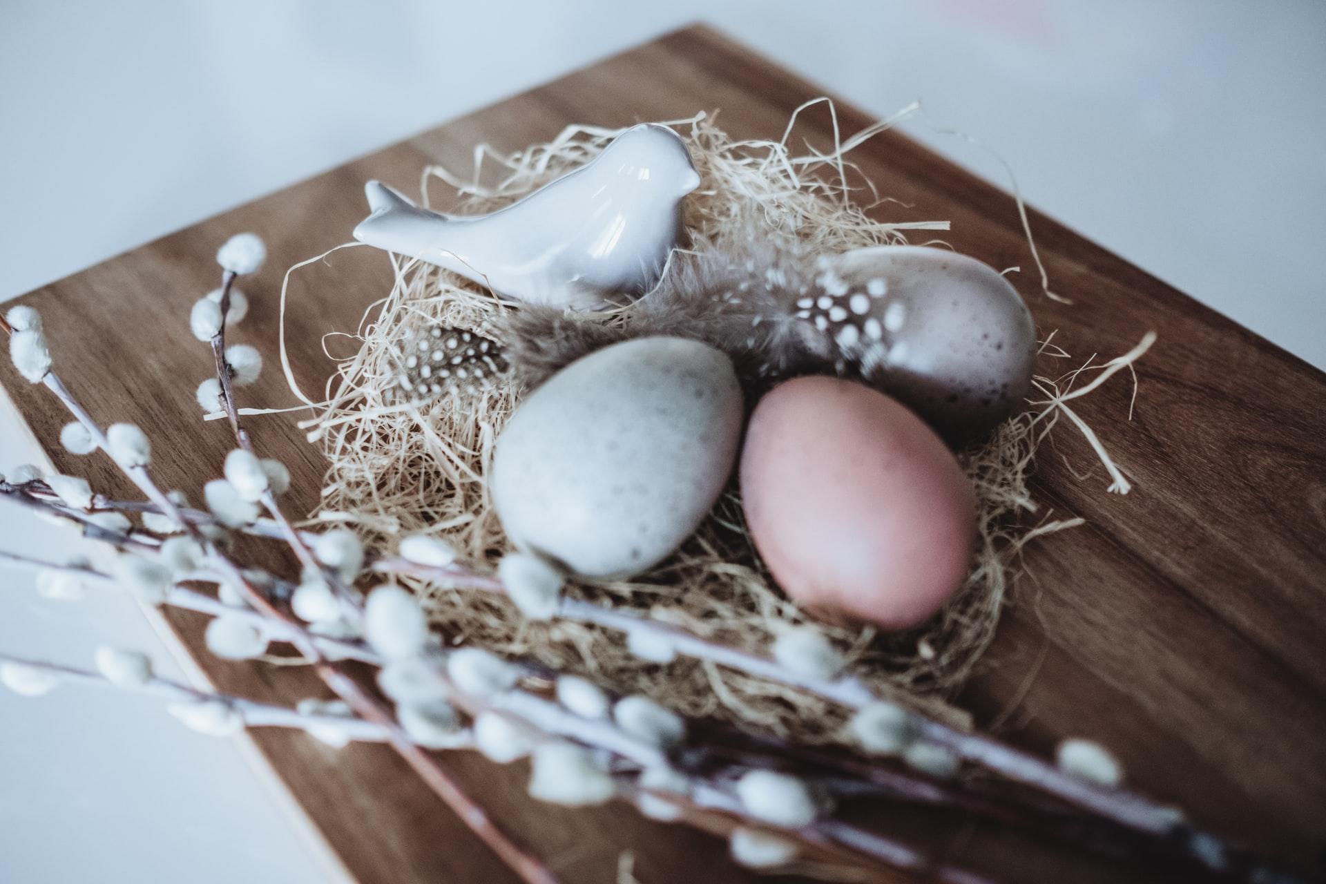 Rustykalne ozdoby Wielkanocne
