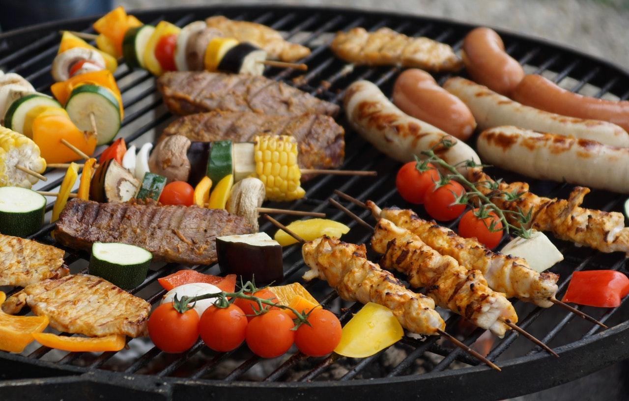 Jedzenie na grillu